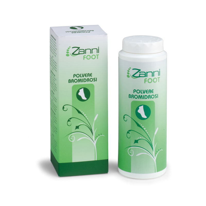 Pudr proti zápachu Zanni Foot 100 ml